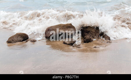 Maui beach detail - Stock Image