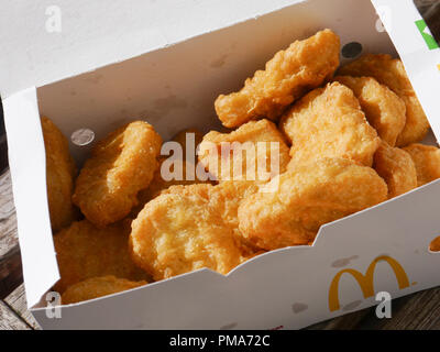 A 20 chicken McNugget sharebox - Stock Image