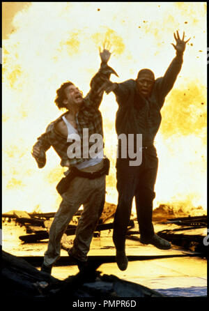 Prod DB © MGM / DR BLOWN AWAY (BLOWN AWAY) de Stephen Hopkins 1994 USA avec Jeff Bridges et Forest Whitaker explosion, action d'apres le scŽnario de John Rice - Stock Image