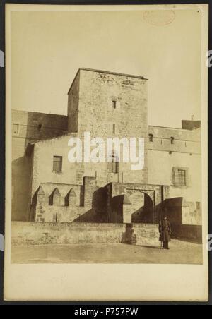 27 Citadelle de Perpignan - J-A Brutails - Université Bordeaux Montaigne - 2279 - Stock Image