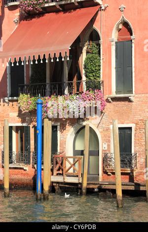 Palazzo Da Lezze, Venice, Italy - Stock Image
