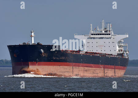 Bulk-Carrier Clia - Stock Image