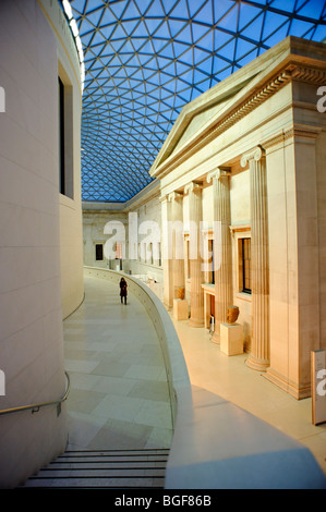 The Great Court at The British Museum. London 2009 - Stock Image