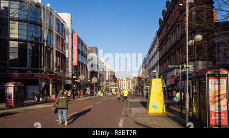 Castlecourt shopping centre in Donegal Square Belfast - Stock Image