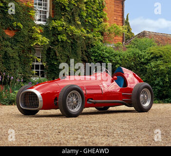 1952 Ferrari 375 Indianapolis Formula 1 AAA Championship Trail Racing Single Seater Grant Piston Ring Special Country - Stock Image