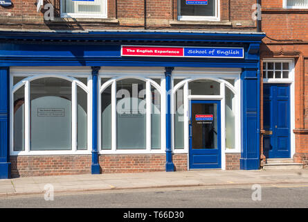 The English Experience School of English in Norwich, Norfolk, England, UK. - Stock Image