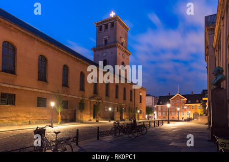 Church of Our Lady in Copenhagen, Denmark - Stock Image
