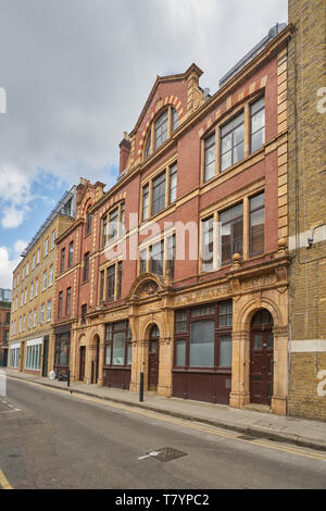jewish soup kitchen  brune street london - Stock Image