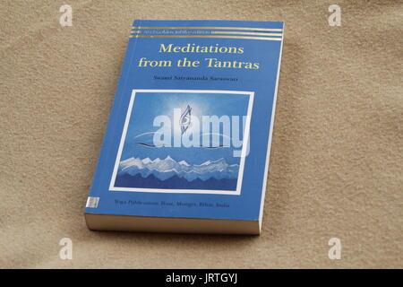 Books on yoga - Stock Image
