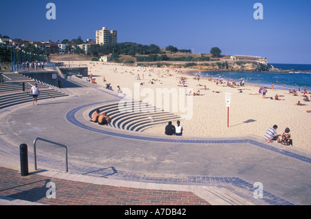 Australia New South Wales Sydney Coogee Beach - Stock Image