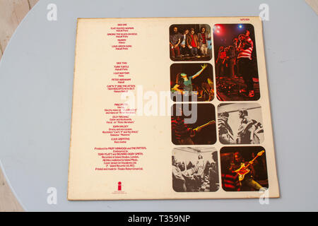 Third? album from outstanding 1970s band Patto formerly TimeBox - Stock Image
