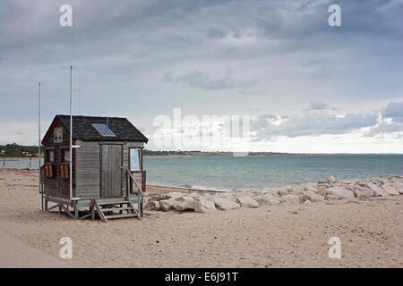 Avon Beach, Mudeford - Stock Image