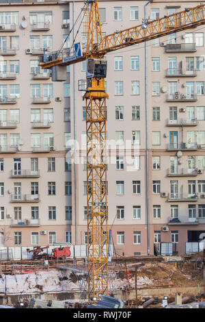 House on the Embankment, Moscow, Russia - Stock Image