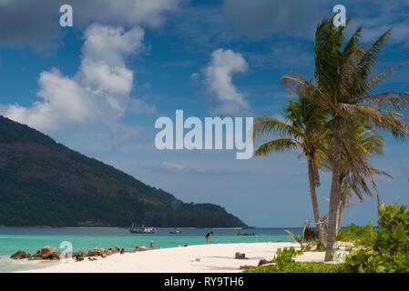 Bulow beach near Sunrise beach, Lo Lipe, Thailand - Stock Image
