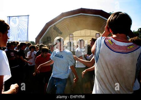 Underage Festival in Victoria Park London. - Stock Image