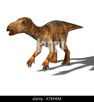 Iguanodon dinosaur - Stock Image