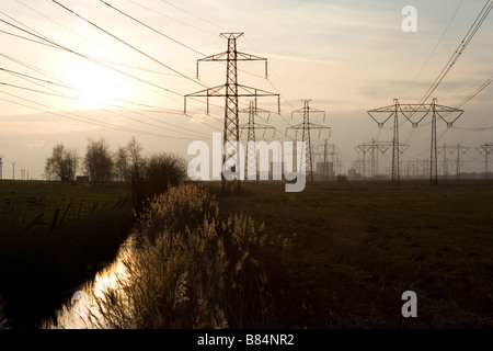 nuclear power - Stock Image