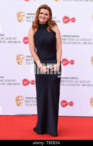 London, UK. 12th May, 2019. LONDON, UK. May 12, 2019: Sian Gibson arriving for the BAFTA TV Awards 2019 at the Royal Festival Hall, London. Picture: Steve Vas/Featureflash Credit: Paul Smith/Alamy Live News - Stock Image