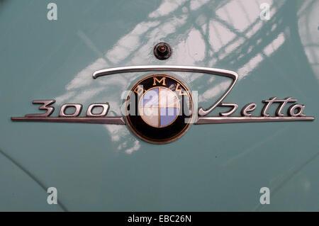 BWM 300 Isetta logo - Stock Image