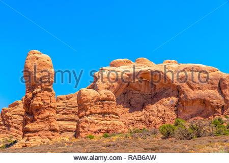 Arches National Park, Utah, USA - Stock Image