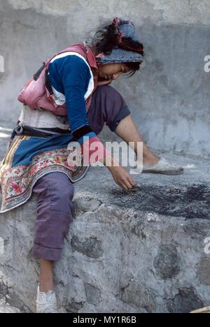 Chinese minorities in Lijiang - Stock Image