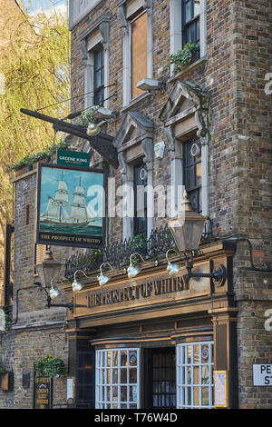 the prospect of whitby pub  wapping - Stock Image