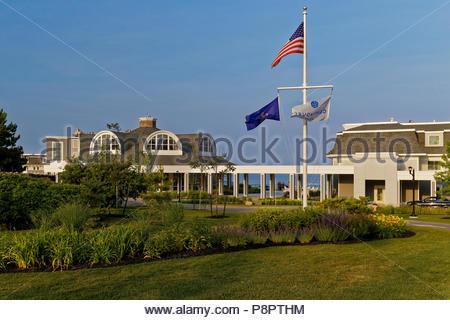 Cliff House resort, York, Maine, USA - Stock Image