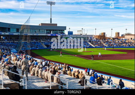 University of Kentucky Baseball Game at new stadium - Stock Image