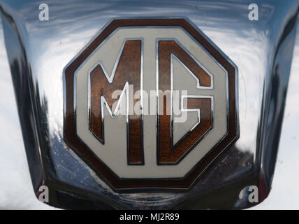 MG Car Marque - Stock Image