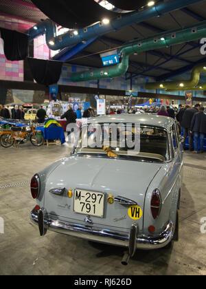 1961 Neckar - Fiat 1100 Spezial. Retro Málaga 2019. Spain. - Stock Image
