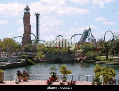 Universal Studios Island Adventure Orlando Florida USA 2002 - Stock Image