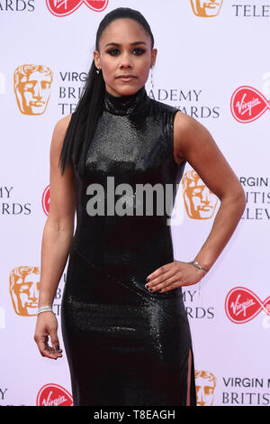 LONDON, UK. May 12, 2019: Alex Scott arriving for the BAFTA TV Awards 2019 at the Royal Festival Hall, London. Picture: Steve Vas/Featureflash - Stock Image