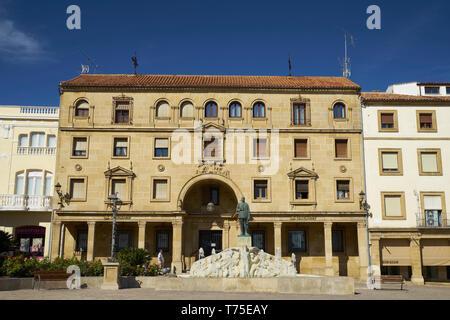Plaza de Andalucía, Úbeda, Jaén, Spain. - Stock Image