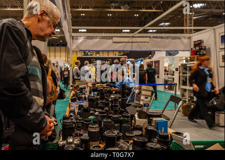The Photography Show held at the NEC, Birmingham, West Midlands, UK. - Stock Image