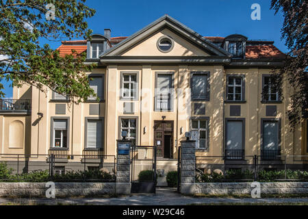TOPOI Centre for research and study of Ancient civilizations, peoples & cultures. Department Of FU Free Universtity, Dahlem-Berlin - Stock Image