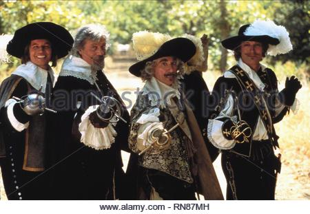 THE THREE MUSKETEERS, MICHAEL YORK, OLIVER REED, FRANK FINLEY , RICHARD CHAMBERLAIN, 1973 - Stock Image
