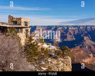 Our last morning at the Grand Canyon. - Stock Image