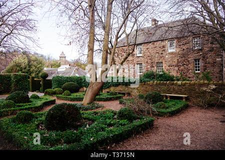 Edinburgh (Scotland) - Canongate, Dunbars Close Garden - Stock Image