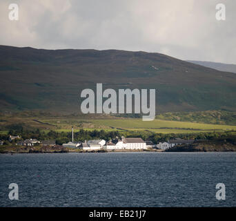 Laphroaig distillery Islay Scotland - Stock Image