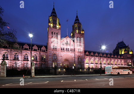 The National History Museum in London Kensington. - Stock Image