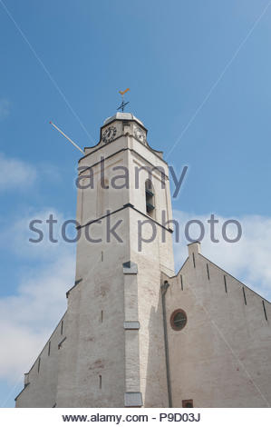 Katwijk The Netherlands Oude / Andreaskerk, Church. - Stock Image