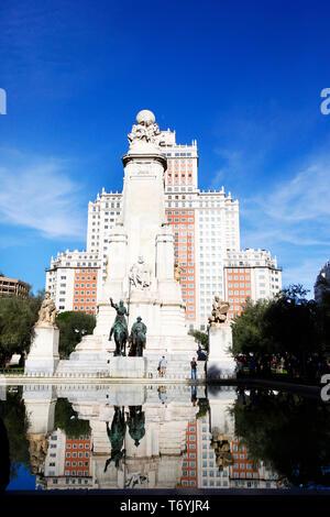 plaza de espana - Stock Image