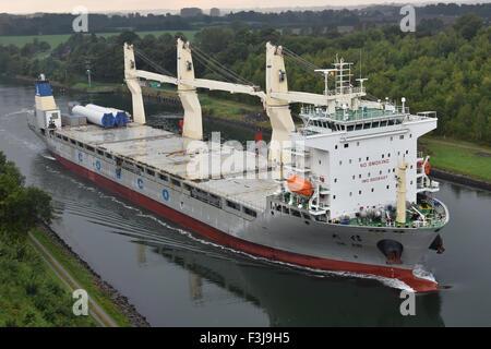 Chinese generacl cargo shio Da Xin - Stock Image