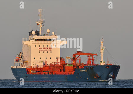 Chemical/Oil Products Tanker Amur Star - Stock Image