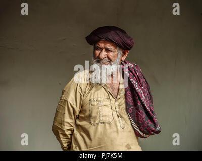 Kutchy man in ,Kutch,Gujrat , India - Stock Image