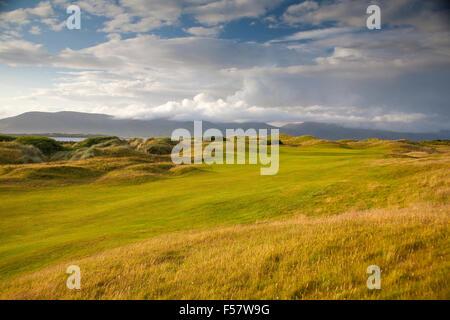 Dooks Golf Course Kerry Ireland - Stock Image