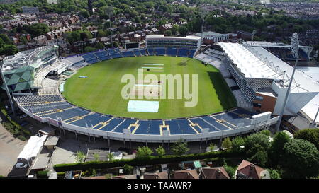 An aerial view of Headingley Cricket Ground, Leeds. - Stock Image
