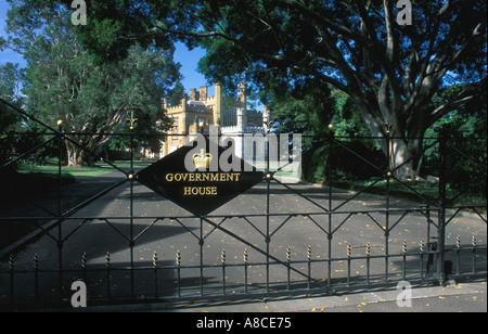 Australia New South Wales Sydney Government House - Stock Image