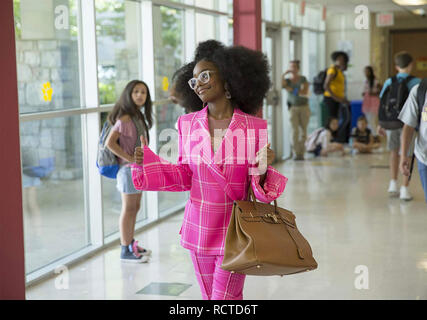 LITTLE 2019 Universal Pictures film with Marsai Martin - Stock Image