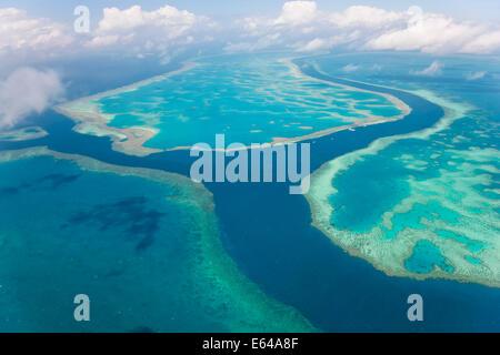 Great Barrier Reef, Queensland, Australia - Stock Image